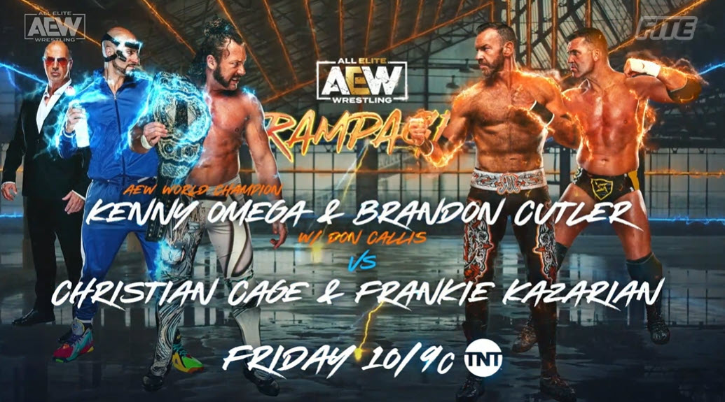 AEW Rampage Spoilers For Friday: Tag Eliminator Tournament Finals, Kenny Omega