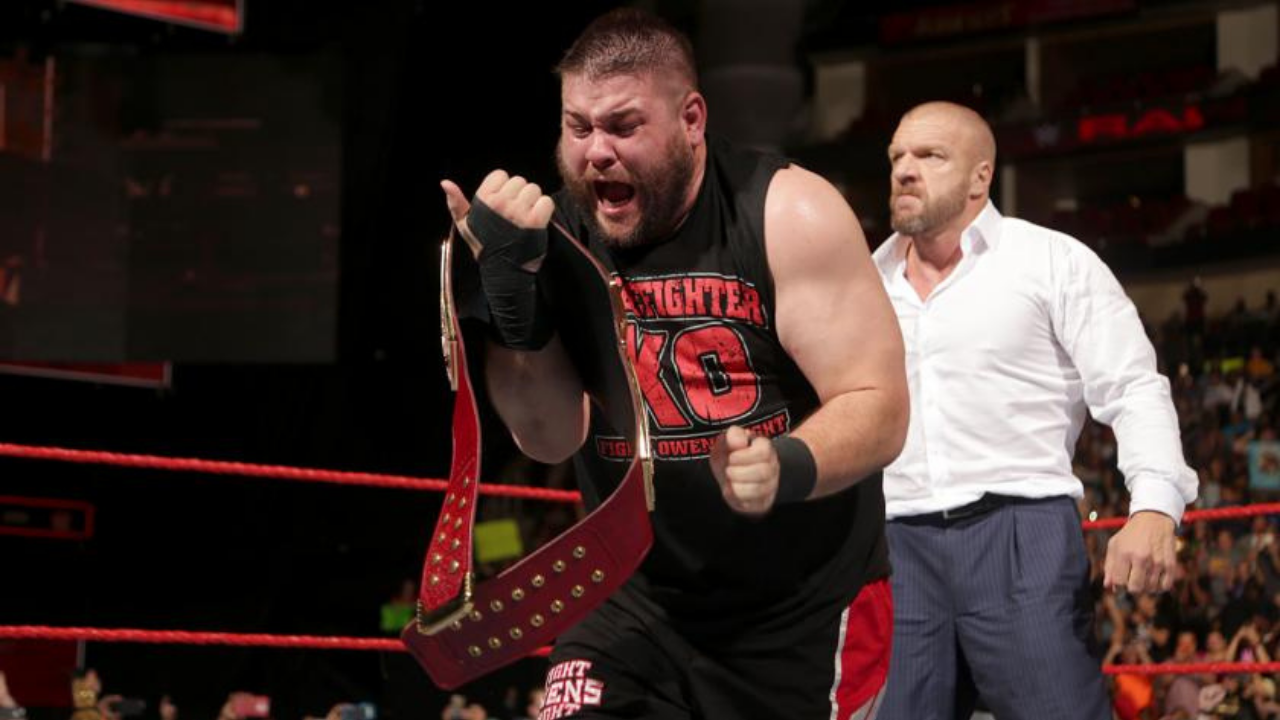 Video: Kevin Owens Celebrates WWE Universal Title Anniversary