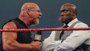 """Bobby Lashley Teases He May """"Walk All Over"""" Goldberg At WWE Crown Jewel"""