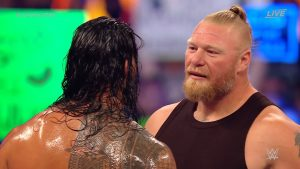 Roman Reigns Reacts To Brock Lesnar's Return At WWE SummerSlam