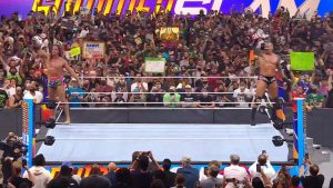 WWE SummerSlam: Randy Orton And Riddle Vs. AJ Styles And Omos (RAW Tag Team Titles Match)