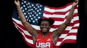 Gold Medal Olympian Wrestler Tamyra Mensah-Stock Wants To Be A WWE Superstar, WWE Comments