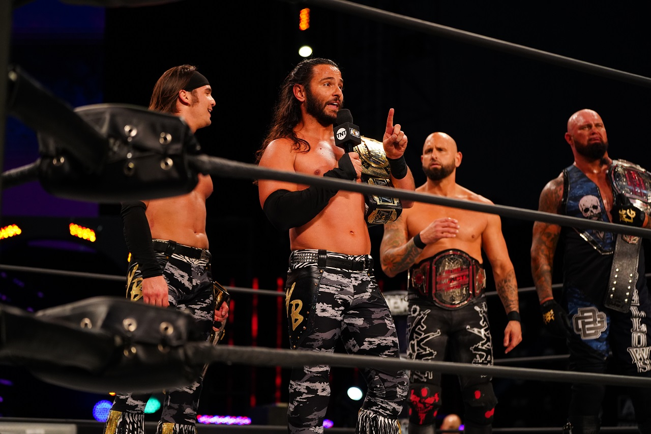 Eight-Man Match Announced For Final AEW Dynamite Before All Out