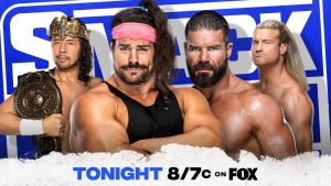 WWE SmackDown Match And Segments Revealed For Tonight