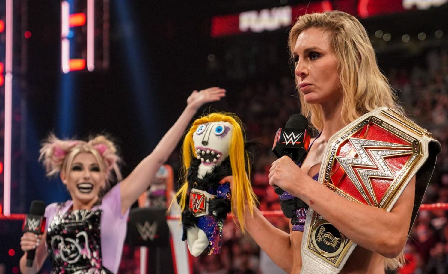 """WWE Selling """"Charly"""" Dolls, Alexa Bliss Has A Message For The RAW Women's Title"""