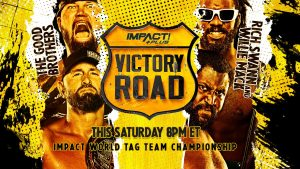 Four More Matches Are Confirmed For Impact's Victory Road Event
