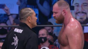 Minoru Suzuki And Jon Moxley Face Off At AEW All Out