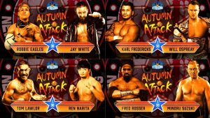 Spoilers For NJPW Autumn Attack (9/25): Jay White, Will Ospreay In Action
