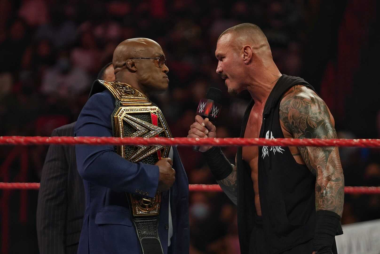 WWE Possibly Changes Plans For Randy Orton Vs. Bobby Lashley