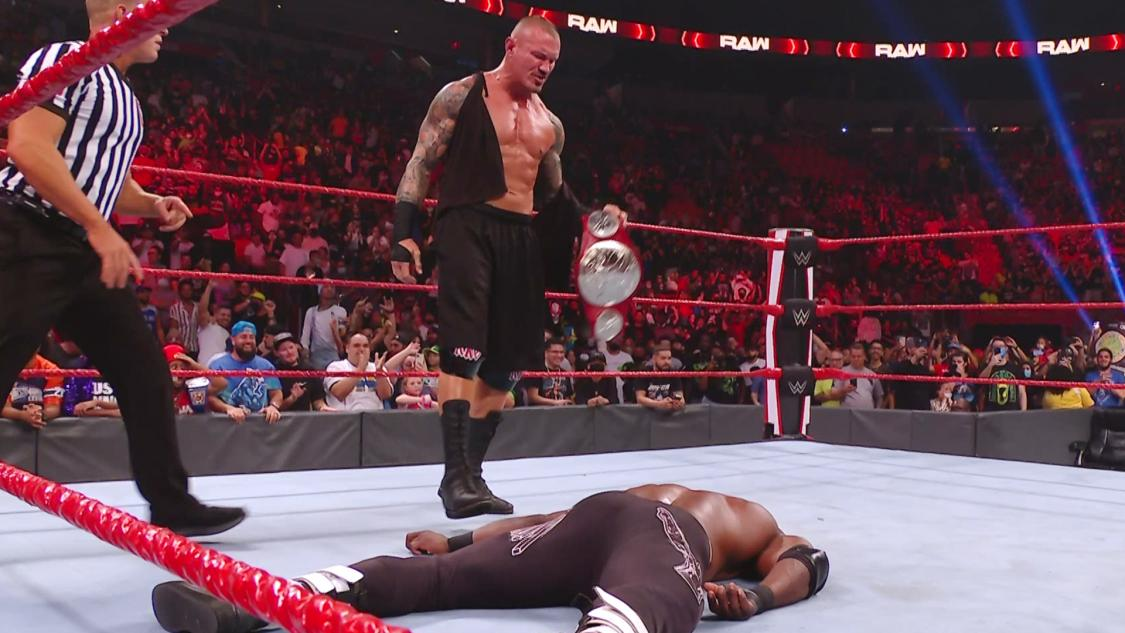 WWE RAW Viewership Down From Last Week For Labor Day Episode