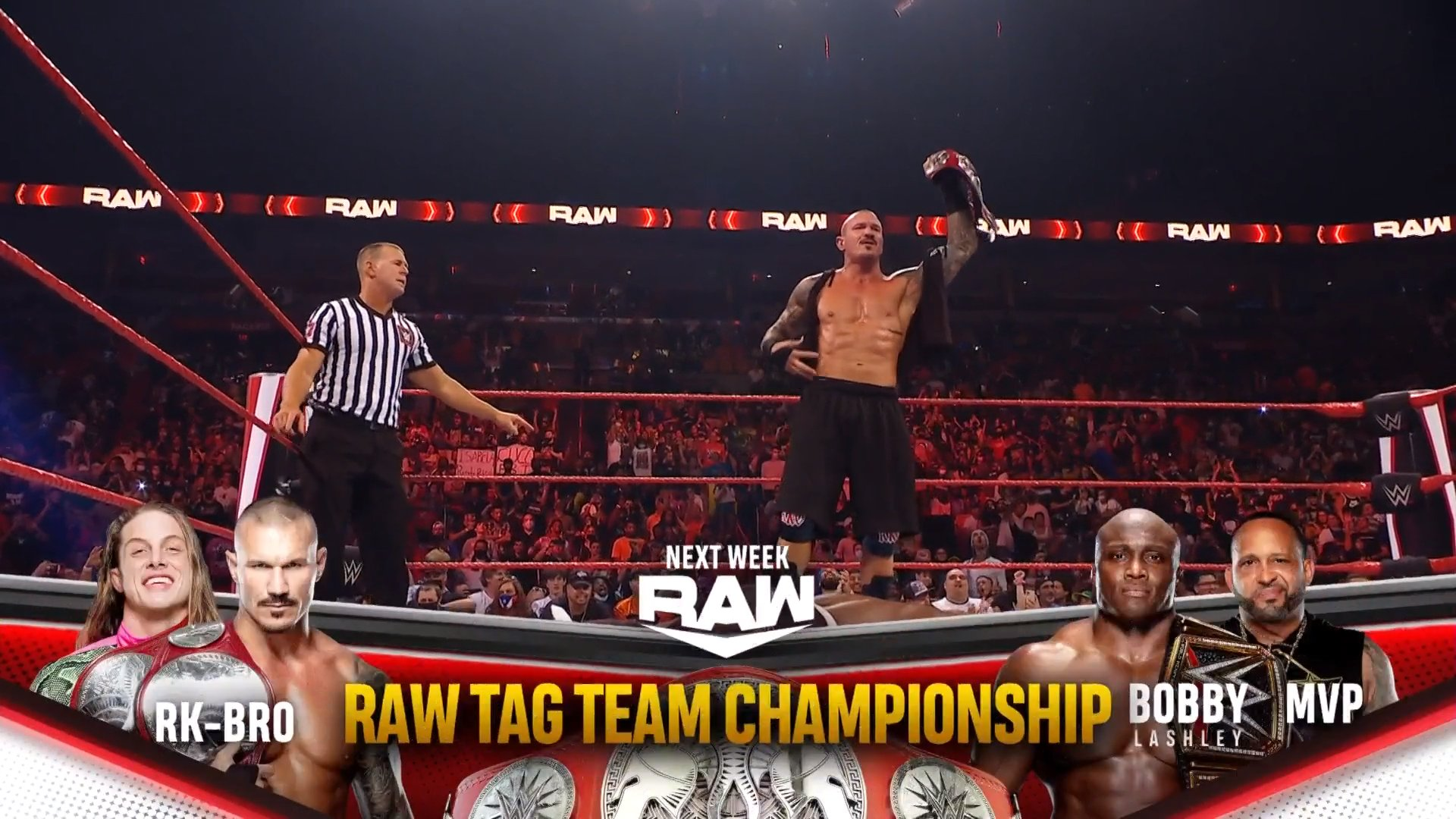 WWE Announces RAW Tag Team Titles Match For Next Week