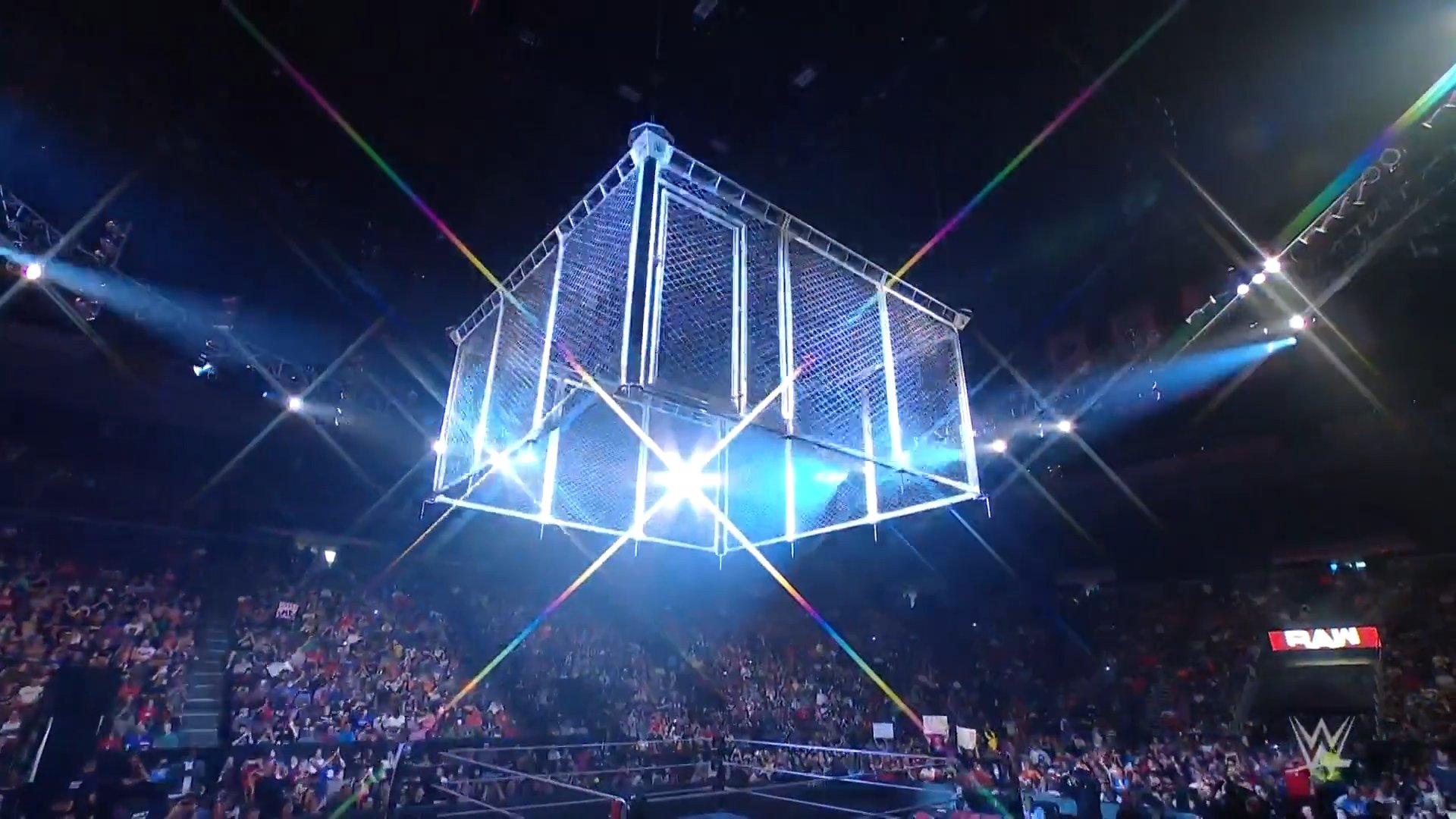 WWE Monday Night RAW Results – Steel Cage Main Event, Charlotte Flair Open Challenge, More