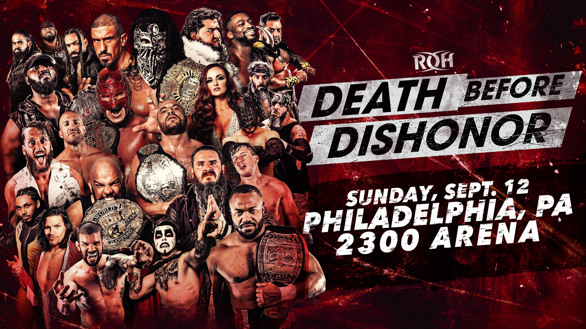 ROH Death Before Dishonor Results: World Title Four-Way Match