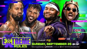 WWE Extreme Rules: The Usos Vs. The Street Profits (SmackDown Tag Team Titles)