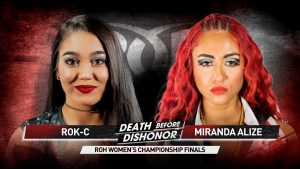 New ROH Women's World Champion Crowned At Death Before Dishonor