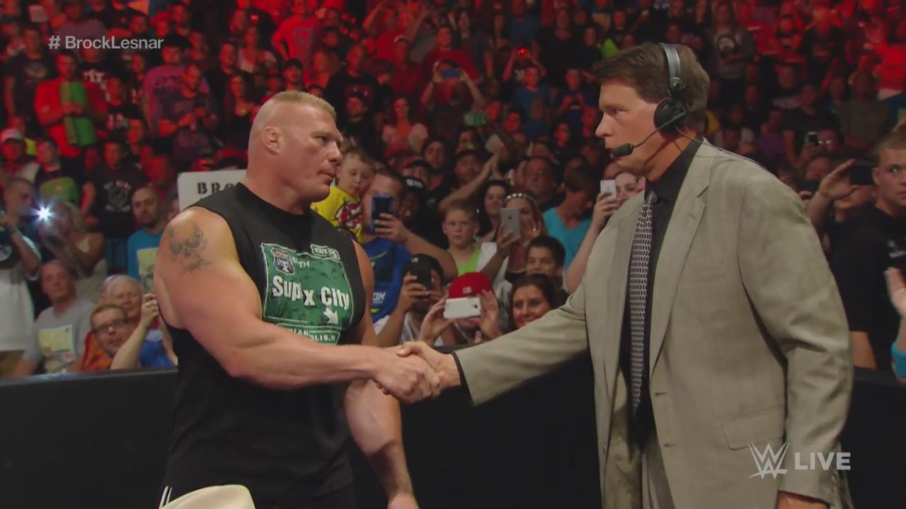 JBL Recalls His Response When Brock Lesnar Offered To Put Him Over