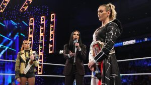 Backstage Heat On Charlotte For Segment With Becky Lynch, Escorted Out Of Venue