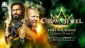 WWE Crown Jewel Content Announced For Thursday