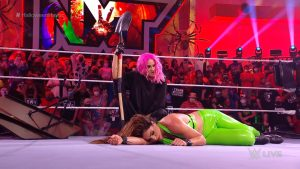 Big Title Change At WWE NXT Halloween Havoc, Mystery Woman Revealed
