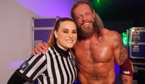 Jessika Carr Discusses Edge's Influence On Her Making History At WWE Crown Jewel