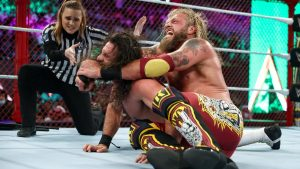 WWE Female Referee Makes History At Crown Jewel