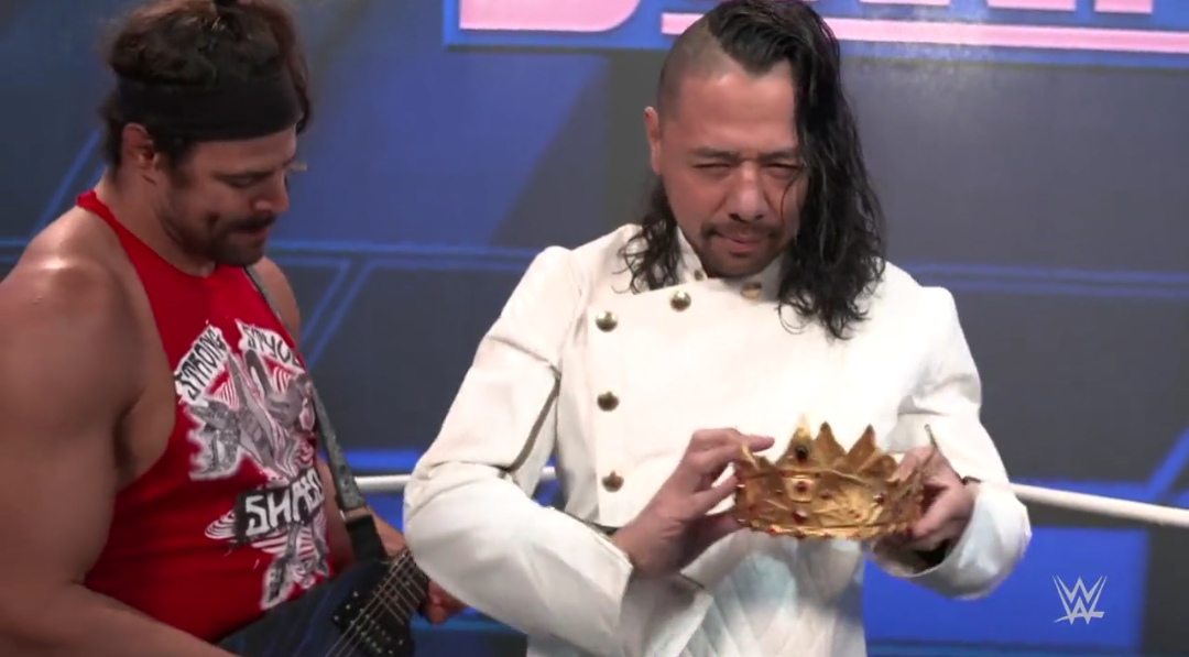 """Shinsuke Nakamura Drops """"King"""" From His Name And Gives Up The Crown"""