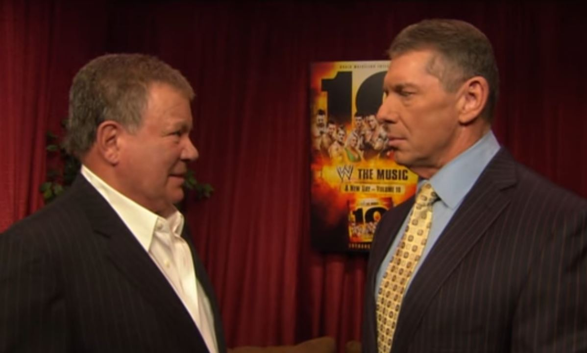 Vince McMahon Proud Of WWE Hall Of Famer William Shatner For Going To Space